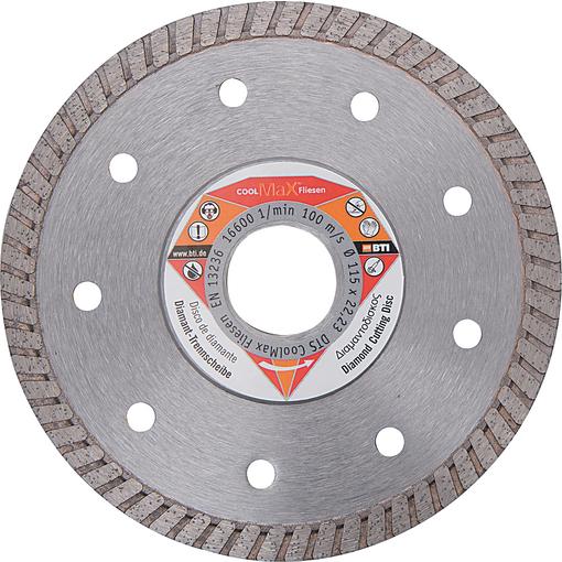 Diamant-Trennscheibe DTS CoolMax Fliesen Ø 115 mm